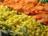 Párolt zöldségek