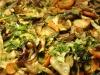 Rostlapon sült zöldségek
